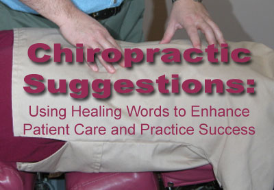 Chiropractic Suggestions